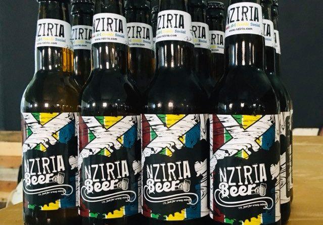 NZIRIA beer first batch