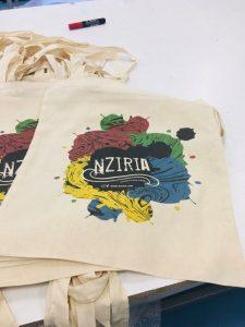 NZIRIA shopping bag